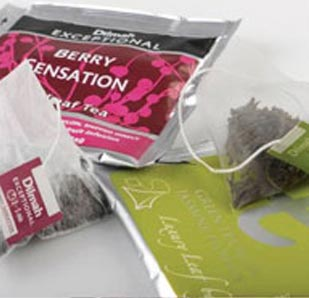 Dilmah tea in foil sachets